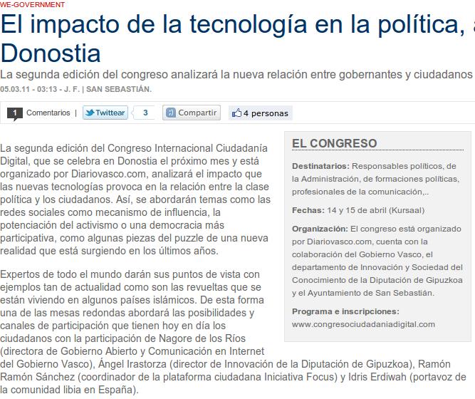 Congreso Ciudadanía Digital