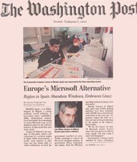 Linex en Washington Post