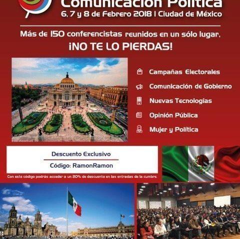 descuento Cumbre Mundial de Comunicación Política
