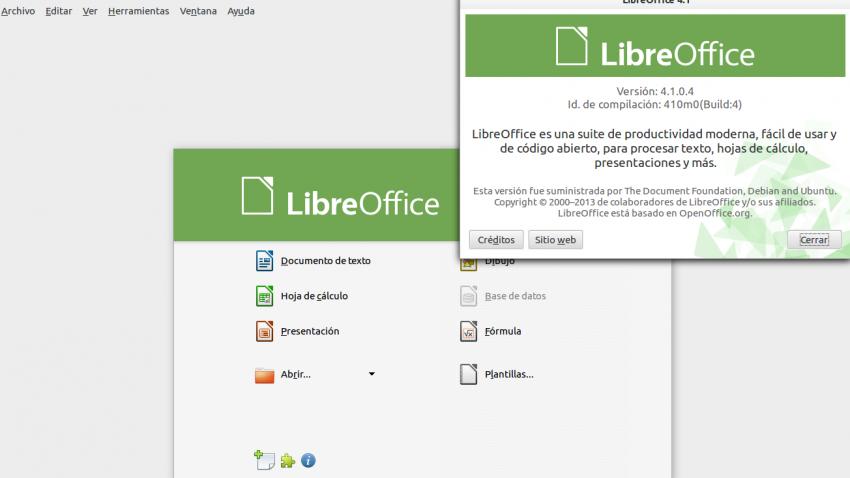 Nuevo LibreOffice