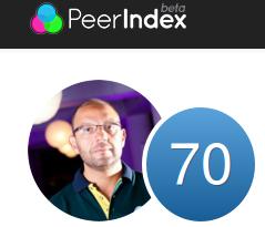 PeerIndex score