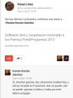 Mejor Blog de Software Libre 2013