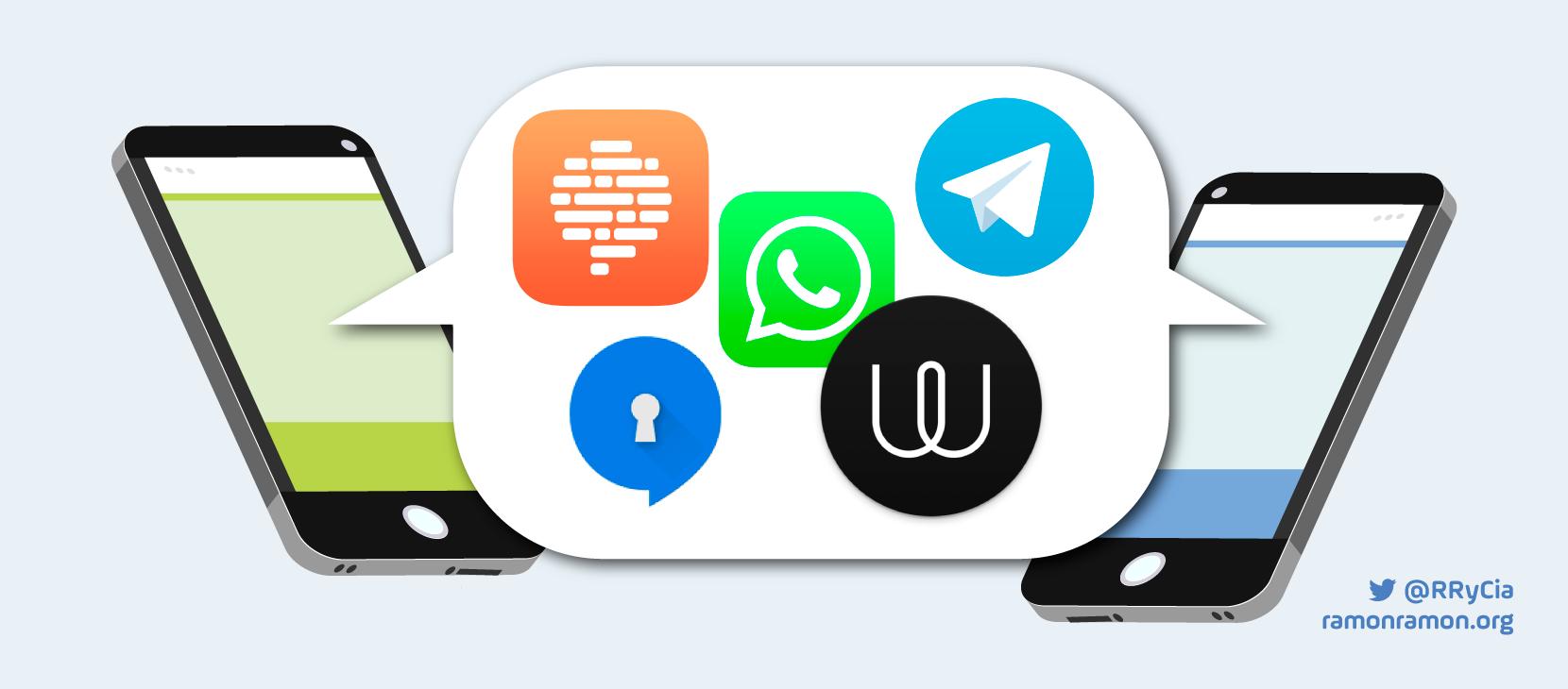 apps mensajeria