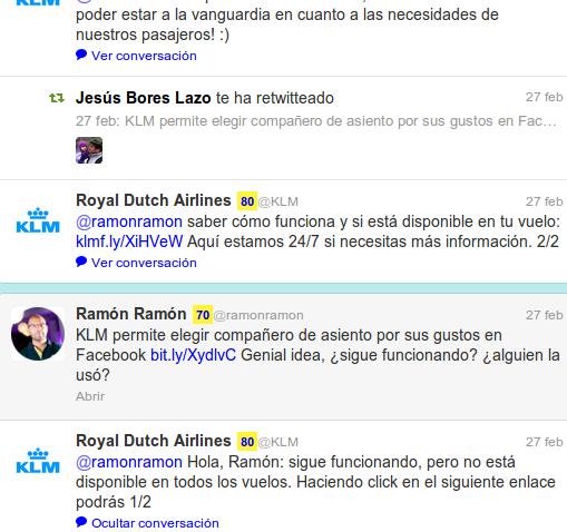 Social Media de KLM