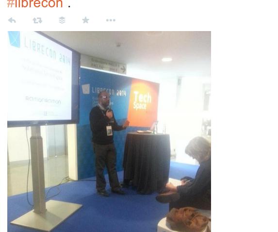 Ramón Ramón en LibreCon
